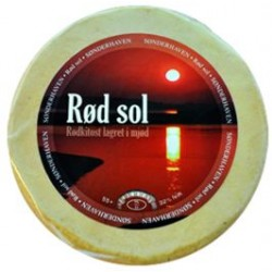 Rød Sol 55+,lagret i mjød,port saluttype