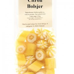 Bolsjer Citron/Orange