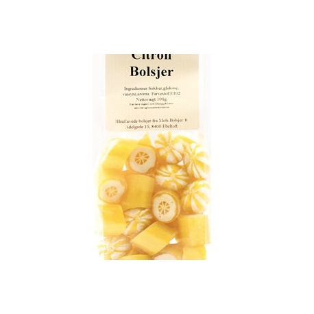 Bolsjer Citron/Orange