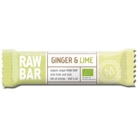 Øko. Rawbar Ginger & Lime