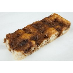Gluten-laktosefri Brunsviger stykke