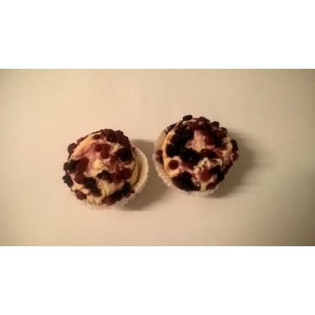 Glutenfri muffin m. skovbær