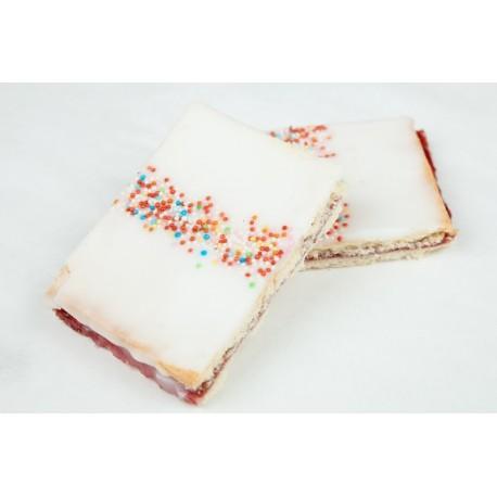 Gluten-laktosefri Hindbærsnitter