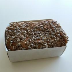 Gluten-laktosefri Gulerods rugbrød