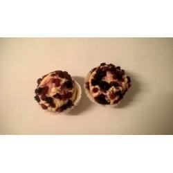 Muffins skovbær bagt uden sukker