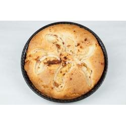 Glutenfri tærte m.æble, bagt uden sukker