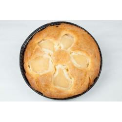 Glutenfri tærte m.pære, bagt uden sukker