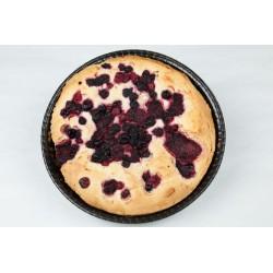 Glutenfri tærte m.skovbær, bagt uden sukker